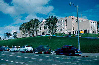 Photograph - Sf City College 1956  2 by Cumberland Warden