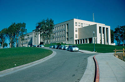 Photograph - Sf City College 1956 by Cumberland Warden