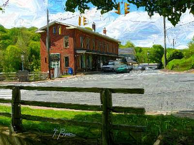 Townscape Digital Art - Sh - 61 by Glen River