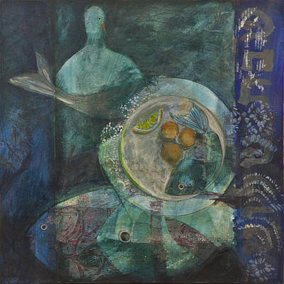 Painting - Shabbat by Jillian Goldberg