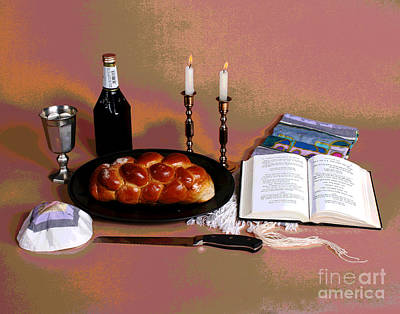 Photograph - Shabbat Time by Larry Oskin