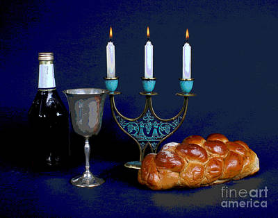Photograph - Shabbos Friday by Larry Oskin