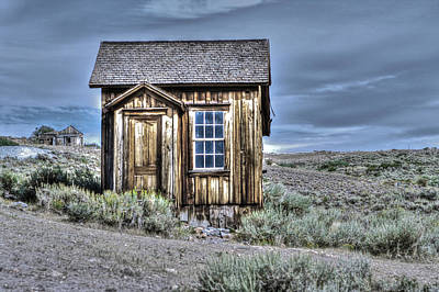 Photograph - Shack At Bodie by SC Heffner