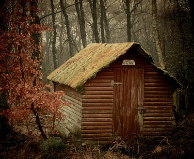 Rural Decay Photograph - Shack by Odd Jeppesen