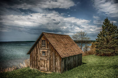 One Of A Kind Photograph - Shack On Superior by Paul Freidlund