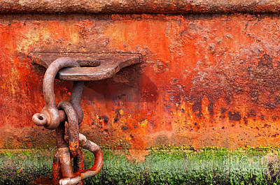 Photograph - Shackle by Rick Piper Photography