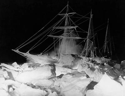 Antarctica Photograph - Shackleton's Ship, Endurance by Underwood Archives