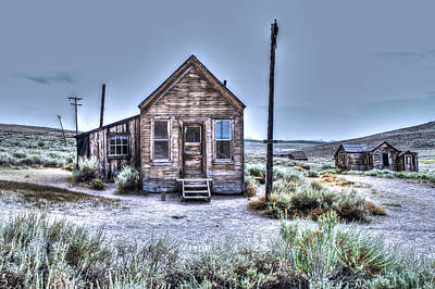 Photograph - Shacks At Bodie by SC Heffner