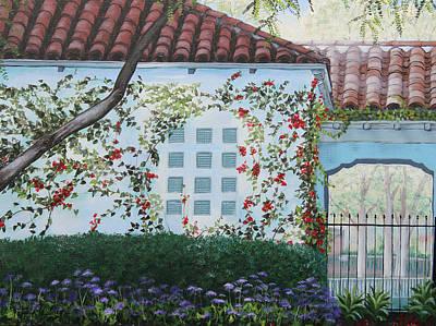 Shade Garden Original by Patricia Pasbrig