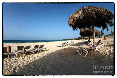 Photograph - Shade On The Beach by John Rizzuto