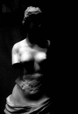 Woman Torso Photograph - Shade That Follows  by The Artist Project