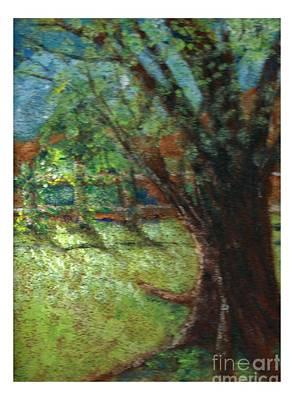 Painting - Shade Tree by Joseph Wetzel