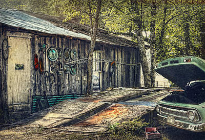 Photograph - Shade Tree Mechanic by Don Lovett