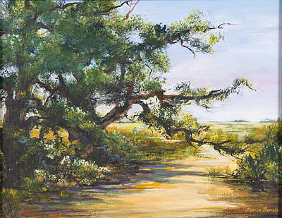 Painting - Shaded Path by Sharon Sorrels