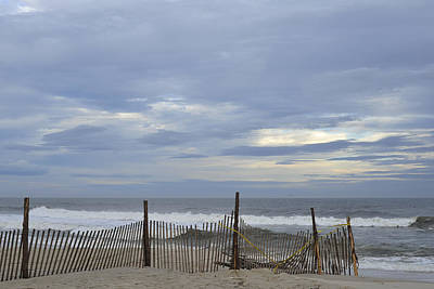 Shades Of Blue Seaside Heights Nj Art Print by Terry DeLuco