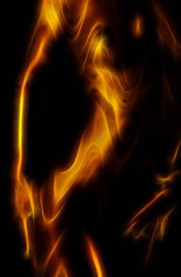 Nudes Digital Art - Shades Of Caramel Abstract by Naman Imagery