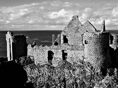 Photograph - Shades Of Dunluce Castle by Nina Ficur Feenan