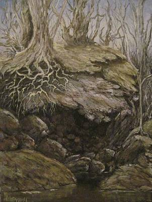 Art Print featuring the painting Shades Of Froud by Megan Walsh