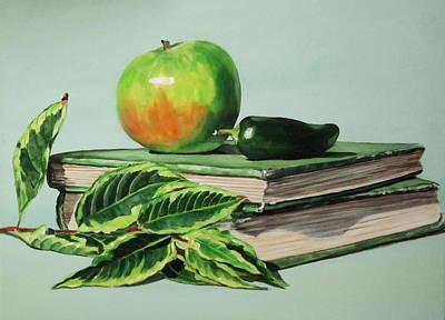Shades Of Green Apple And Pepper Original