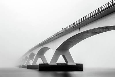 Fog Photograph - Shades Of Grey by Sus Bogaerts
