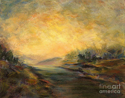 Shades Of Late Afternoon Print by Addie Hocynec