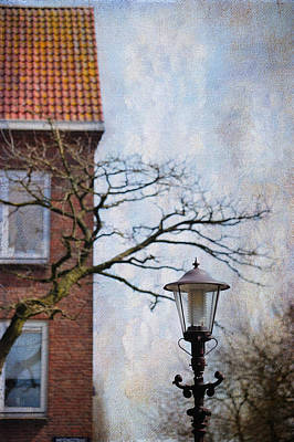 Photograph - Shades Of Memory. Pink Spring In Amsterdam by Jenny Rainbow