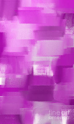Digital Art - Shades Of Radiant Orchid Abstract by Andee Design
