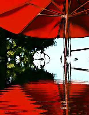 Shades Of Red Art Print by Robert Smith