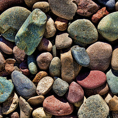 Shades Of Stone Art Print by Kelley King