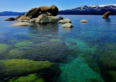 Photograph - Shades Of Tahoe by Benjamin Yeager