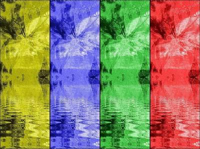 Digital Art - Shades Of Waves by Kelly McManus