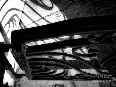Photograph - Shadow And Shapes No. 221 by Fei Alexander