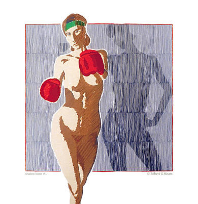 Shadow Boxer - 1 Print by Robert G Mears