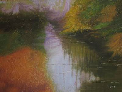 Painting - Shadow Creek by Harvey Rogosin