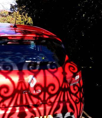 Renault Clio Photograph - Shadow Danding by Nik Watt