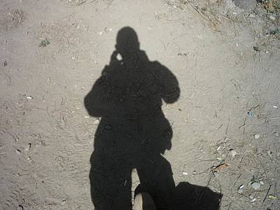 Photograph - Shadow In Afghanistan  by Shea Holliman