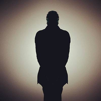 I Phone Photograph - Shadow Man For Iphone  by Anand Koduru