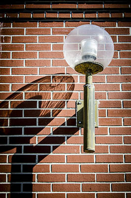 Photograph - Shadow Of A Lamp by Carolyn Marshall