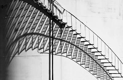 Shadow Of The Climb  Art Print by Jack Zulli