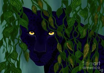 Rain Forest Digital Art - Shadow Of The Rainforest by Nick Gustafson