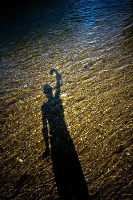 Shadow On The Water Art Print by Joel Loftus