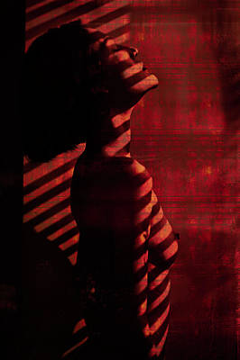 Nude Portraits Photograph - Shadow Over Me by Thanakorn Chai Telan