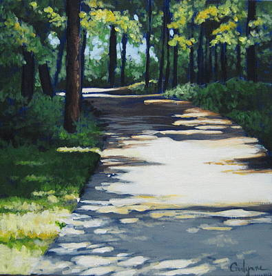 Painting - Shadow Path by Carlynne Hershberger