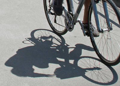 Photograph - Shadow Rider by Susan OBrien