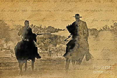 Photograph - Shadow Riders by Kim Henderson