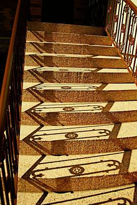 Photograph - Shadow Steps by JAMART Photography