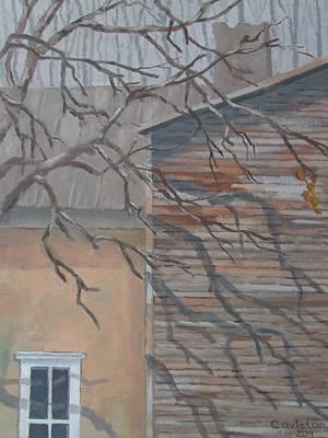 Painting - Shadows 1 by Tony Caviston