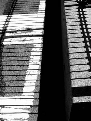 Photograph - 'shadows And Stripes' by Liza Dey