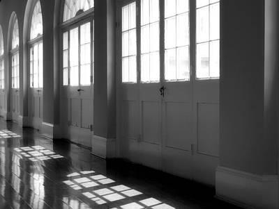 Shadows At The Cabildo Art Print by James Stough