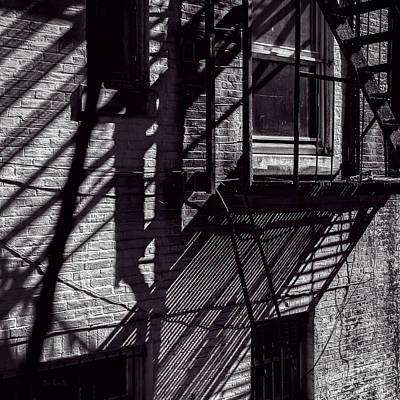 Fire Photograph - Shadows by Bob Orsillo